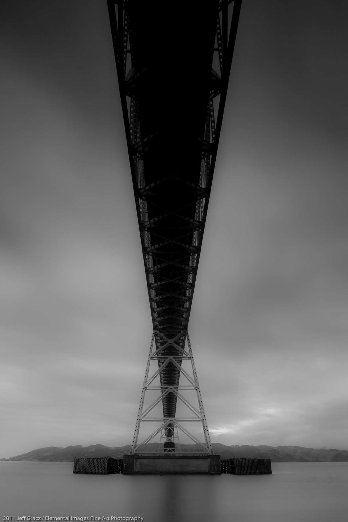 Astoria Bridge II | Astoria | OR | USA - © 2011 Jeff Gracz / Elemental Images Fine Art Photography - All Rights Reserved Worldwide