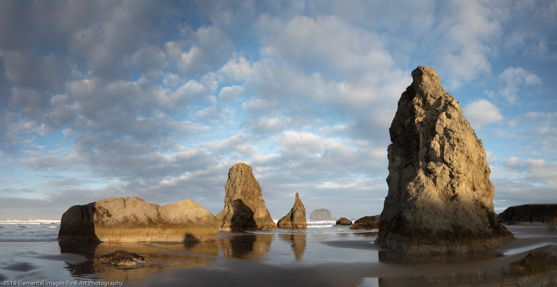 Bandon Sea Stacks | Bandon | OR | USA - © 2019 Elemental Images Fine Art Photography - All Rights Reserved Worldwide