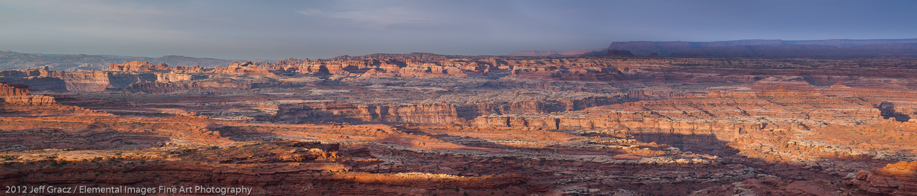 View from the White Crack | Canyonlands National Park | UT | USA - © 2012 Jeff Gracz / Elemental Images Fine Art Photography - All Rights Reserved Worldwide
