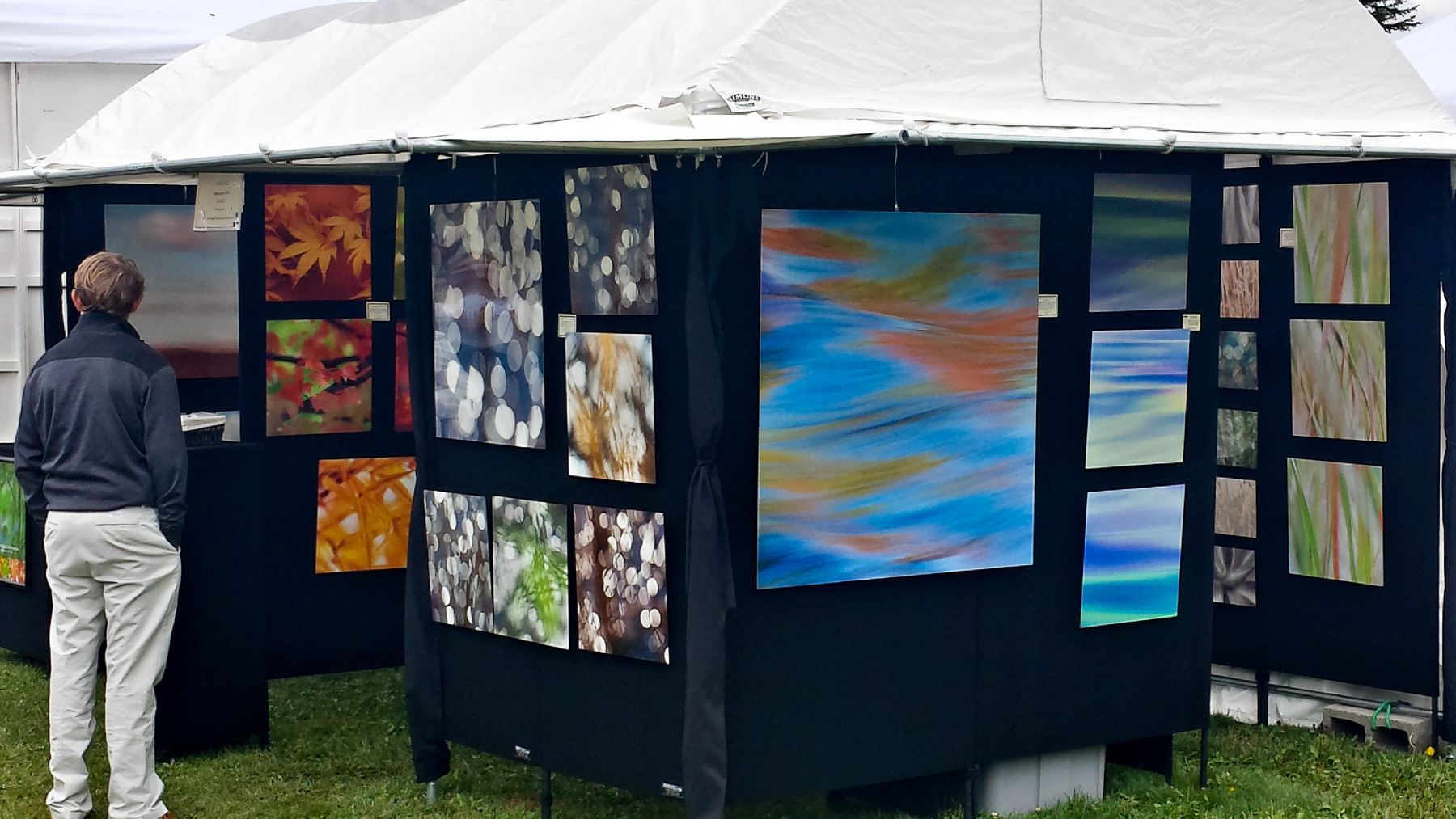 Art show display at Sun Valley, ID | Ketcham | ID | USA - ©  - All Rights Reserved Worldwide