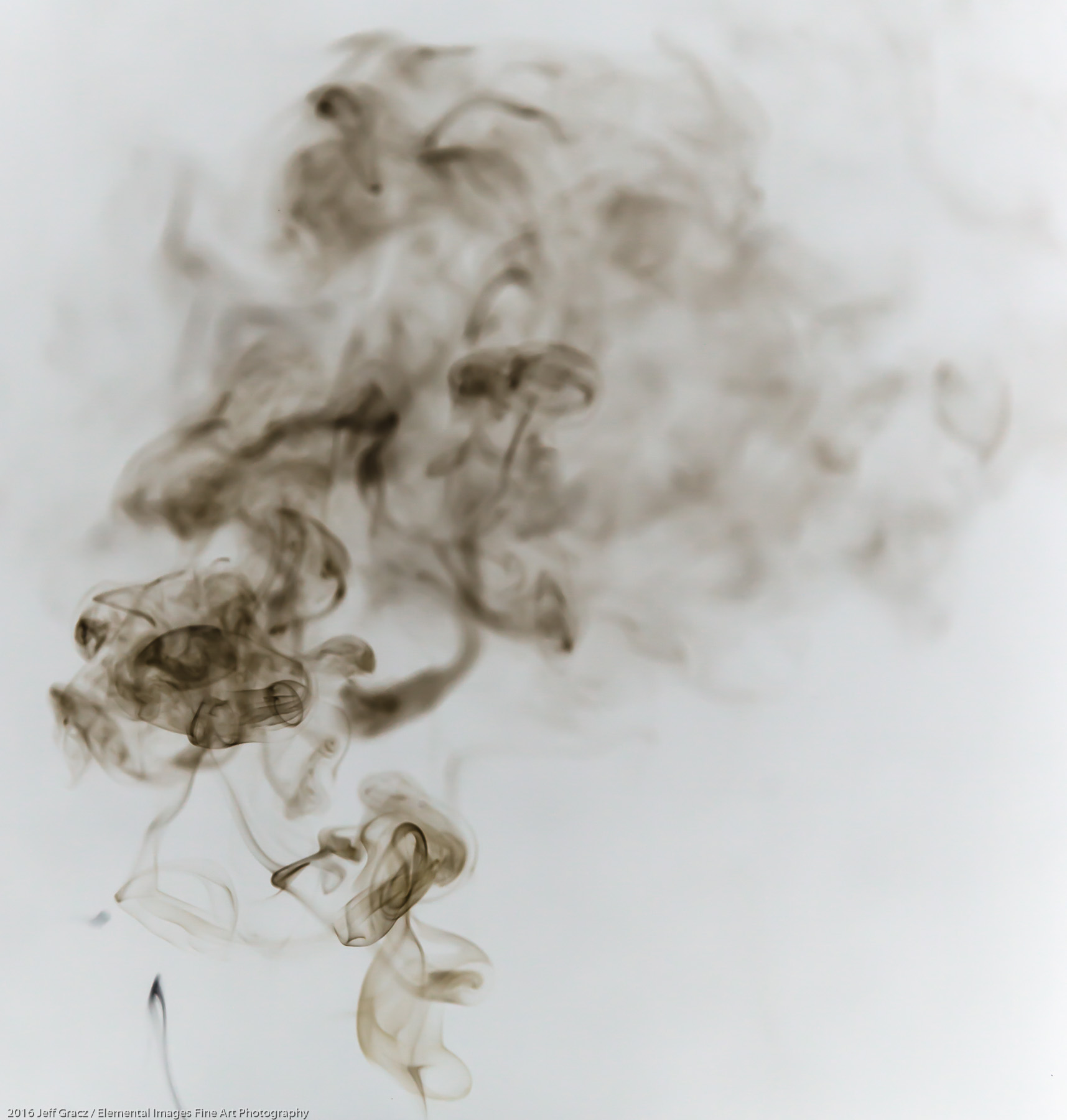 Smoke 7 | Vancouver | WA | USA - © 2016 Jeff Gracz / Elemental Images Fine Art Photography - All Rights Reserved Worldwide