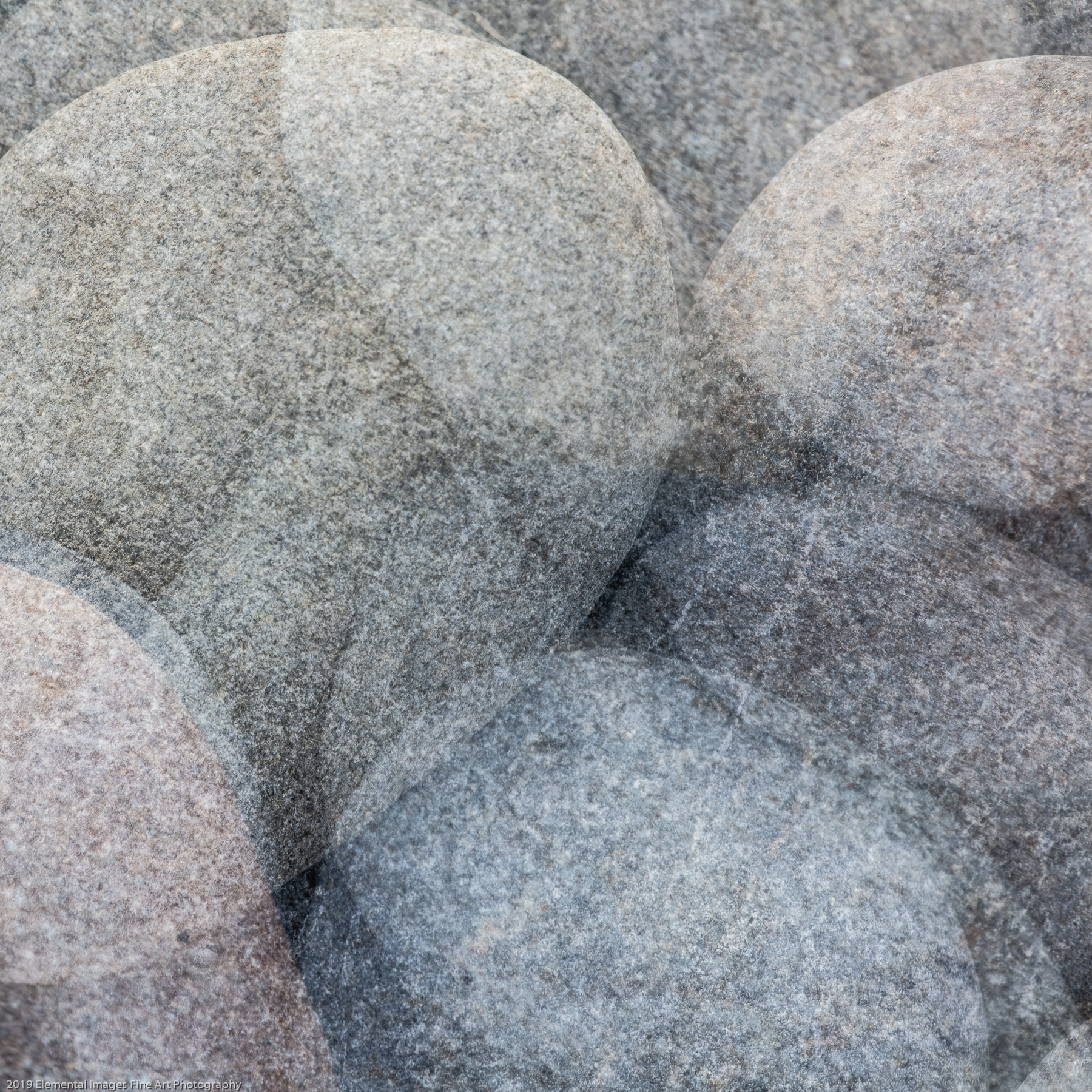Stones #52 | Olympic National Park | WA | USA - © 2019 Elemental Images Fine Art Photography - All Rights Reserved Worldwide